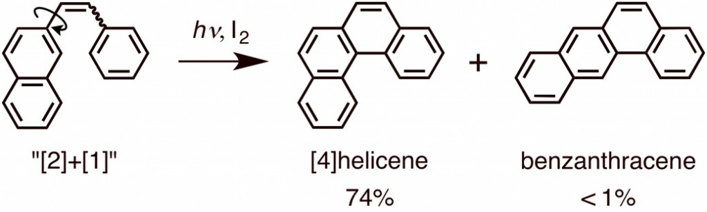 [4]Helicene formation