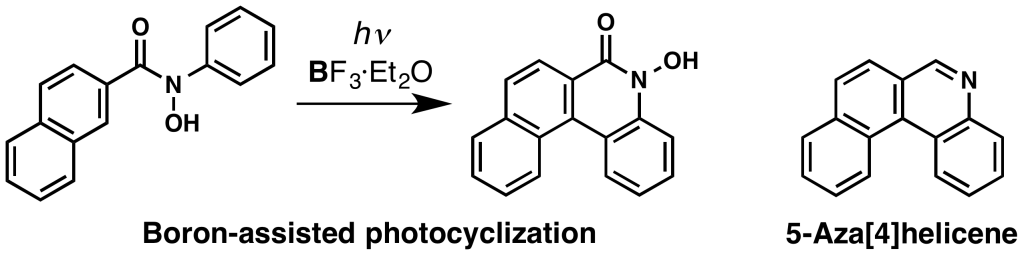 Azahelicene (Chem. Asian J.) (TOC)