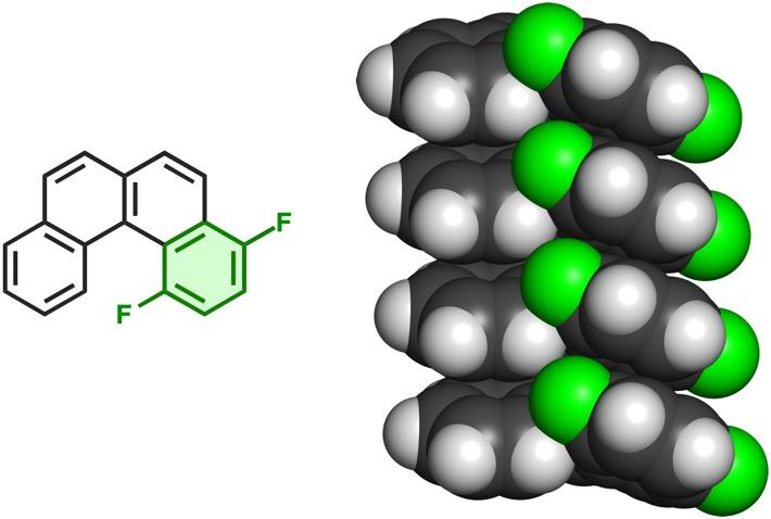 F2-[4]helicene